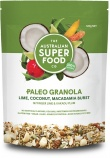 The Australian Superfood Co Paleo Granola Lime, Coconut, Macadamia Burst 320g