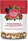 The Australian Superfood Co Paleo Granola Vanilla, Berry, Nutty Goodness 320g