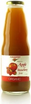 Pure Harvest Apple & Strawberry Juice 1ltr x 6