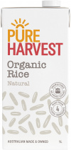 Pure Harvest Aussie Dream Rice Milk 1ltr