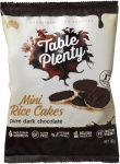 Table of Plenty Dark Chocolate Mini Rice Cakes   60g