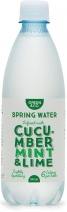 Green & Co Spring Water Infused with Cucumber, Mint & Lime 500ml