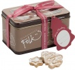 Gingerbread Folk Christmas Minatures Cookies in Tin 200g