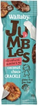 Wallaby Jumbles Coconut Choco Crackle 8x25g