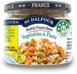 St Dalfour All Natural Ready to Eat Vegetables & Pasta in Glass 200g