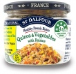 St Dalfour All Natural Ready to Eat Quinoa & Vegetables Gluten Free in Glass 200g