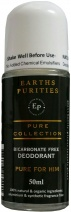 Earths Purities Pure Collection Natural Deodorant Roll On 50g