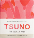 Tsuno Natural Bamboo Regular Pads - Winged & Ultra Thin Box of 10