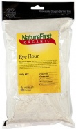 Natures First Organic Rye Flour 500g