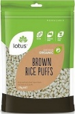 Lotus Organic Brown Rice Puffs 175g
