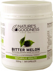 Natures Goodness Bitter Melon Capsules 500mg/365s