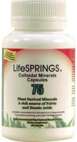 LifeSprings Colloidal Mineral Capsules 60Caps