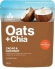 The Chia Co Oats + Chia Cacao & Coconut 400g