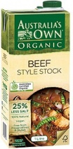 Australia's Own Organic Liquid Beef Stock  1Lt