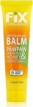 Fix Organic Paw Paw & Manuka Honey Balm 30g