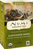 Numi Organic Tea Gunpowder Green 18Teabags