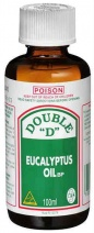 Double D Eucalyptus Oil 100ml