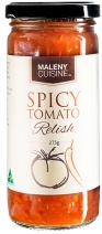 Maleny Cuisine Spicy Tomato Relish 275gm