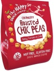 The Happy Snack Company Roasted Chickpeas Spicy Tomato & Chilli 200g Bag