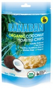 Banaban Organic Coconut Toasted Chips 100g
