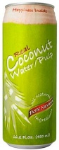 Real Coconut Water Taste Nirvana Pulp Cans 12x480ml