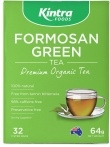 Kintra Foods Organic Formosan Green Tea 32 Teabags