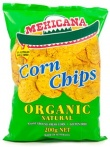 Mexicana Organic Corn Chips 200gm
