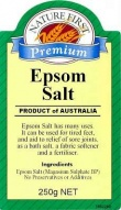 Natures First Epsom Salts 250g