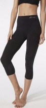 Boody Organic Bamboo 3/4 Leggings  Black  L