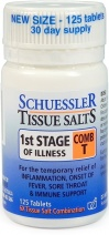 Schuessler Tissue Salts Comb T - 1st Stage of Illness 125 Tab