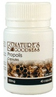 Natures Goodness Propolis Capsules 500mg/40s